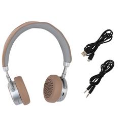 Terris Bluetooth Kopfhörer BKH 274 beige mit Mikrofon