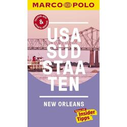 MARCO POLO Reiseführer USA Südstaaten - Neu 2020|USA