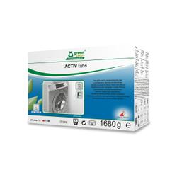 TANA green care ACTIV tabs Waschmittel-Tabs, Leistungsstarke und ökologische Wäschetabs, 1 Packung = 56 Tabs