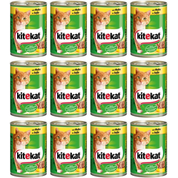 Kitekat Katzennassfutter Huhn braun 12 Stk.