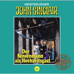 Der Sensenmann als Hochzeitsgast als Hörbuch CD von Jason Dark