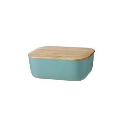 Stelton Butterdose RIG-TIG BOX-IT Butterdose, dusty green, Melamin, Bambus