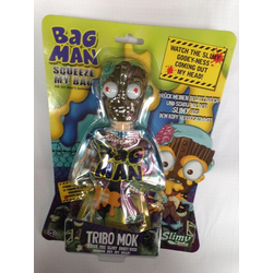 Slimy Monster-Kopf Bag Man - 33740