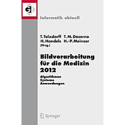 Bildverarbeitung für die Medizin 2012 - Buch