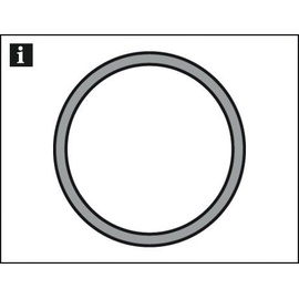 Gardinia Gardinenstange Chicago Ø 20 mm, edelstahl-optik, 240 cm
