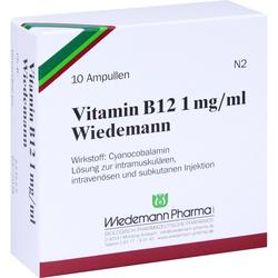 Vitamin B12 Wiedemann Ampullen