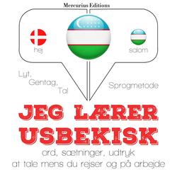 Jeg lærer usbekisk als Hörbuch Download von JM Gardner