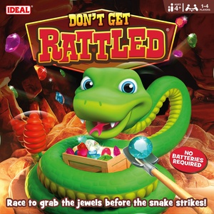 Ideal 10818 Don't Get Rassled Action-Spiel