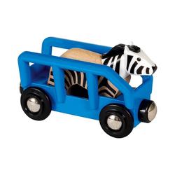 BRIO® Spielzeug-Eisenbahn Tierwaggon Zebra