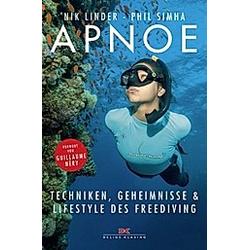 Apnoe. Phil Simha  Nik Linder  - Buch