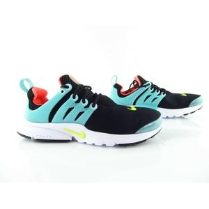 Nike Air Presto (gs) Black Blue Hot Lava Running 833878 073 Eur_36 + 37.5