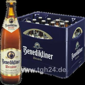 Benediktiner Weissbier Naturtrüb 20x0,5 l