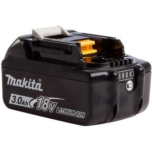 Makita bl1830b 18 V Li-Ion Akku 3.0 Ah (mit Ladezustandsanzeige), schwarz/weiß (1) / 632G12-3