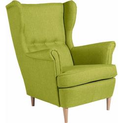 Max Winzer® Ohrensessel Casimir, im Winchester-Look grün