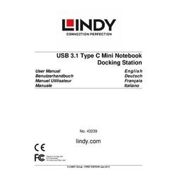 Lindy Usb 3.1 Typ C Mini Docking Station