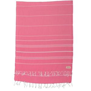 Bersuse 100% Baumwolle - Anatolia XXL Strandtuch Sofa-Überwurf - Pink