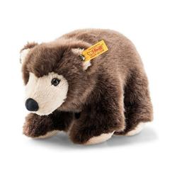 Steiff Kuscheltier Softy Braunbär (25 cm) [dunkelbraun]