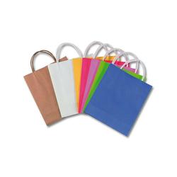 Folia Geschenkpapier Papiertüten 18 x 21 cm farbig, 7 Stück