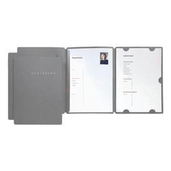 Bewerbungsset »Select« grau, Pagna, 22.5x31 cm