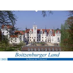 Boitzenburger Land - Im Herzen der Uckermark (Wandkalender 2021 DIN A2 quer)