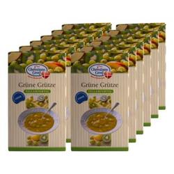 Christians Grod Grütze Kiwi-Stachelbeere 500 g, 12er Pack