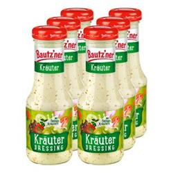 Bautzner Salatdressing Kräuter 200 ml, 6er Pack