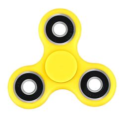 GOKarli Fidget Spinner / Hand Spinner / Finger Spinner Anti Stress Kreisel Gelb