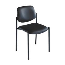 4 NOWY STYL Besucherstühle Quad 6055 SP-A schwarz Leder