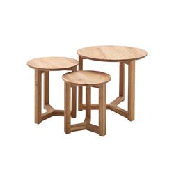 MCA furniture Couchtisch Faye aus massiver Asteiche