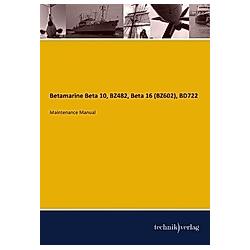 Betamarine Beta 10  BZ482  Beta 16 (BZ602)  BD722 - Buch