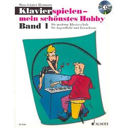 Klavierspielen mein schönstes Hobby 1 - Band 1 inkl. CD