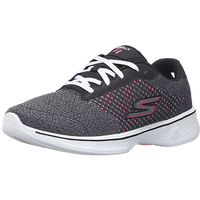 SKECHERS Go Walk 4 - Exceed dark grey/ white, 37