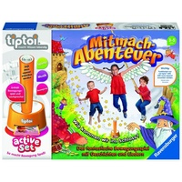 Ravensburger tiptoi active Set Mitmach-Abenteuer