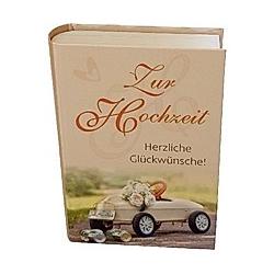 """Geschenkschachtel """"Buch"""""""" - Zur Hochzeit"""""""