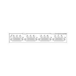 Cisco - PA-4E1G/75 - 4-Port E1 G.703 Serial Port Adapter (75ohm/Unbalanced)