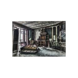KARE Dekoobjekt Bild Glas Vintage Piano Room 100x150cm
