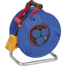 Kabeltrommel Garant Bretec IP44, Durchmesser 290mm, Spezialkunststoff,3 x 230V Steckdose, 25m