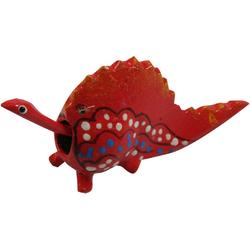 Guru-Shop Dekofigur Wackelkopf Tier, Wackeltier - Drache rot