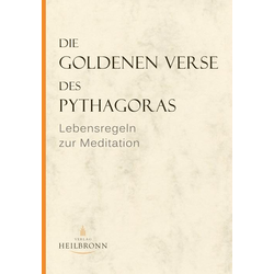 Die Goldenen Verse des Pythagoras als Buch von Pythagoras