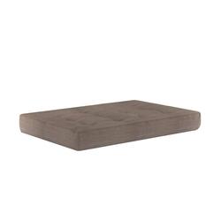 Vicco Palettenkissen Palettenkissen Sitzkissen Palettenmöbel 15 cm hoch Taupe