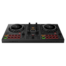 Pioneer DJ Mischpult DDJ-200, 2 Kanal DJ Controller, USB & Bluetooth 4.2, kompatibel mit PC, Mac, iOS und Android