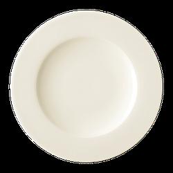 Diamant Teller flach 22,5 cm cream
