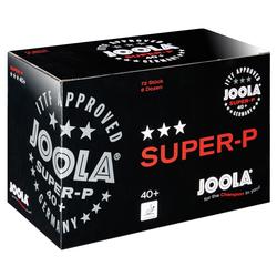 JOOLA® Tischtennisbälle SUPER-P, Weiß, 72er Karton