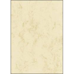Sigel DP191 Motivpapier Marmor DIN A4 200 g/m² Beige 25 Blatt