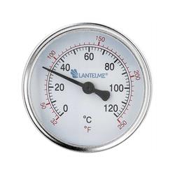 Lantelme Raumthermometer 120 Grad Heizungsthermometer, 3-tlg., schwarz, Anzeige 6,5cm schwarz