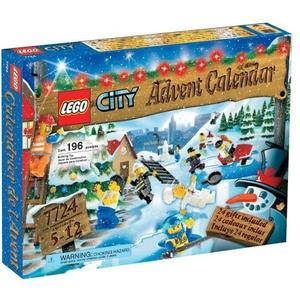 LEGO 7724 City Adventskalender 2008