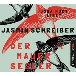 Der Mauersegler als Hörbuch CD von Jasmin Schreiber