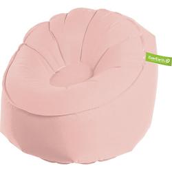 Sitzsack, aufblasbar, rosa altrosa