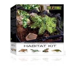 Exo Terra -  Rainforest Habitat Kit, Gr.S - 30 x 45 x 30 cm