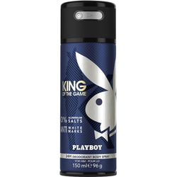 Playboy King of the Game Deo Body Spray 150 ml Deodorant Spray